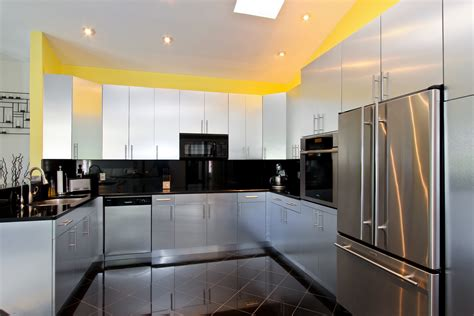 home interior lighting design amazing black and white italian style kitchen cabinets