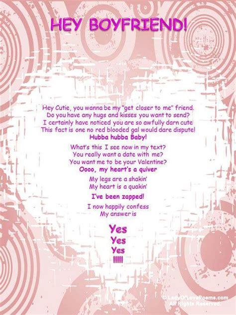 poems  love valentine poem  boyfriends love