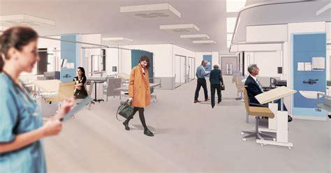 Priority Scheme for Nottingham Hospital P+HS Architects