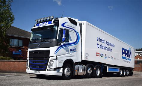 new volvo fh prm group expand fleet with new volvo fh fleet uk haulier