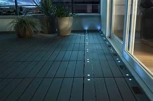Spot Encastrable Exterieur Sous Toiture : eclairage terrasse marie claire ~ Melissatoandfro.com Idées de Décoration