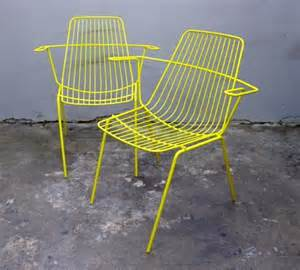 Wire Outdoor Chairs by Wireware Chairs Collectika Vintage And Retro Furniture Shop