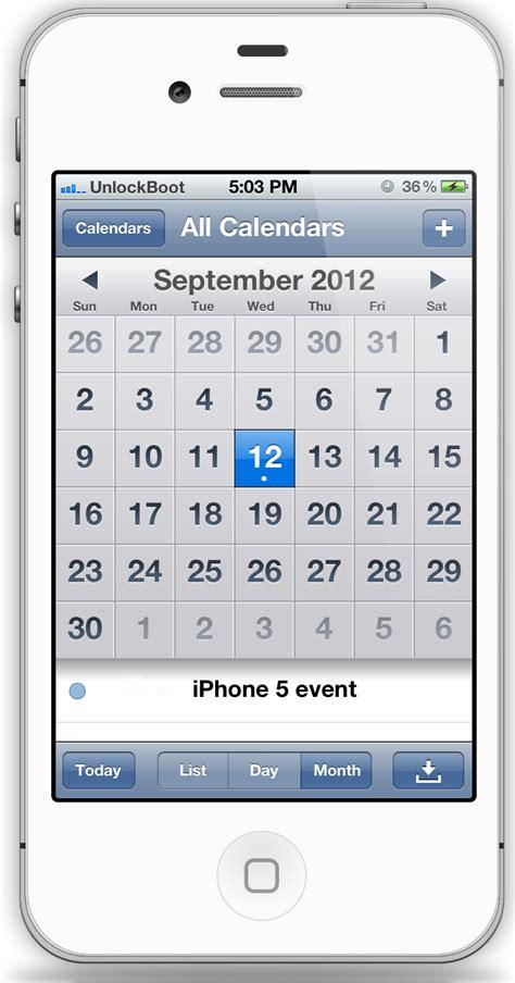 iphone calendar iphone calender calendar template 2016
