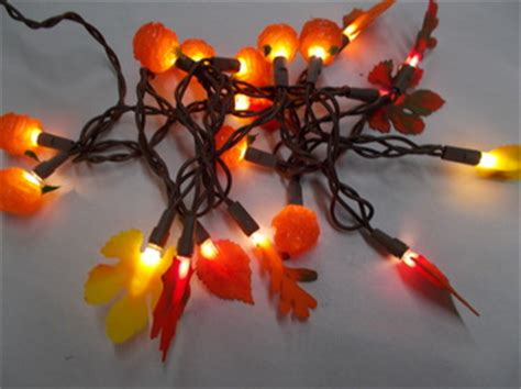 fall string lights seasonal gt seasonal fall string lights