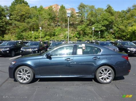 lexus gs300 blue meteor blue mica 2013 lexus gs 350 awd exterior photo