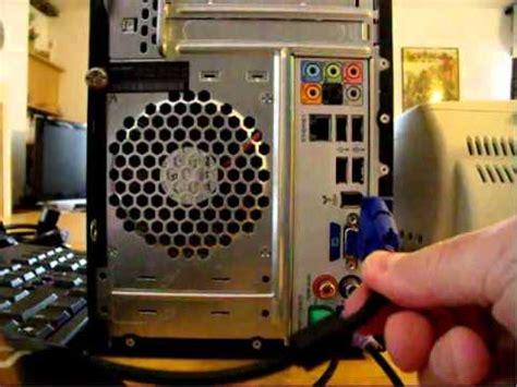 ordinateur de bureau ecran comment brancher un ordinateur de bureau avec ses