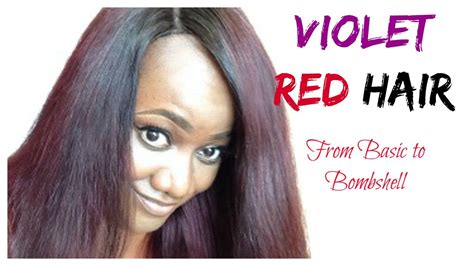 How To Violet Red Hair Color