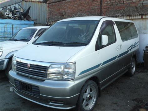 Nissan Elgrand Picture by 1997 Nissan Caravan Elgrand Pictures