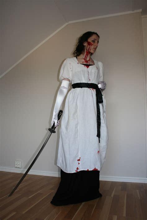zombie slayer regency costume cosplay prejudice pride anime costumes zombies inspired