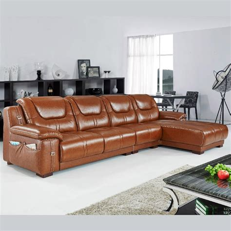 Offer Top Grain Cow Leather Sofasectional Sofas Directly