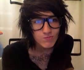 Emo Hairstyles for Guys with Glasses
