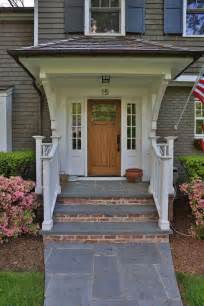 Front Porch Steps Design Ideas