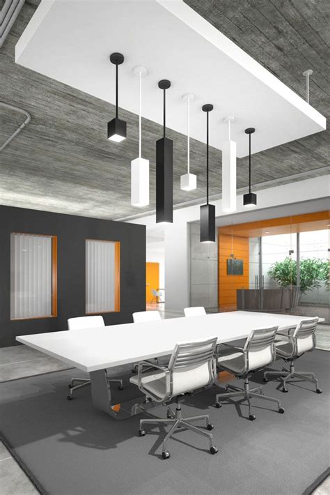 office chandelier lighting with optional sizes ranging from a simple cube to
