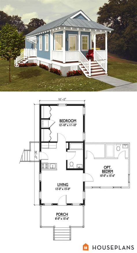 Cottage Homes Floor Plans by Idea For A Apartment In Backyard 500sft