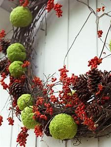Basteln Mit Tannenzapfen Herbst : herbst t rkranz aus nat rlichen materialien basteln 27 ideen ~ Eleganceandgraceweddings.com Haus und Dekorationen