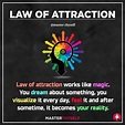"""Law Of Attraction on Instagram: """"A Very simple definition ..."""