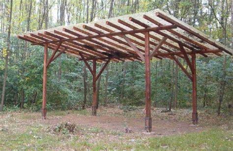 come costruire una tettoia in ferro permesso di costruire per tettoia