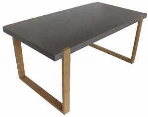 Table Beton Bois : sydney bureau ~ Premium-room.com Idées de Décoration