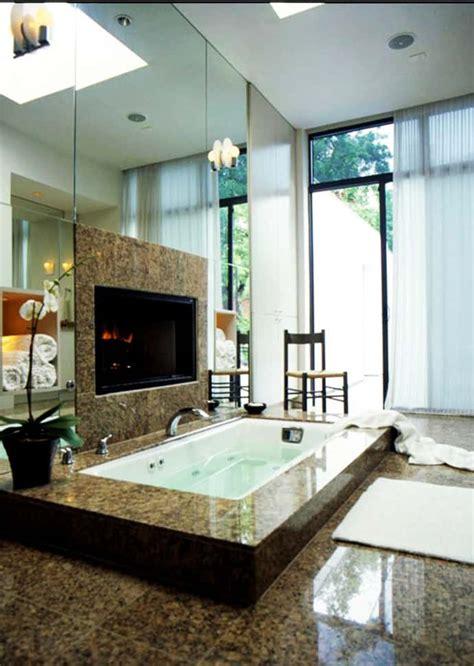 bathroom fireplaces    bath  wow therapy