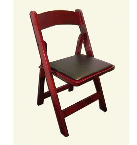 Type Of Chairs For Events by Mahogany Rustic Wood Garden Chair Rental For Chicago Area