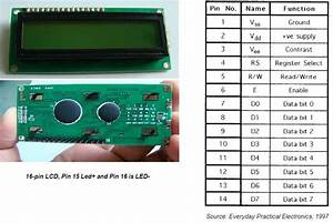 Zouhair Electronics  Pic 16f877 And Lcd 16x2 Character