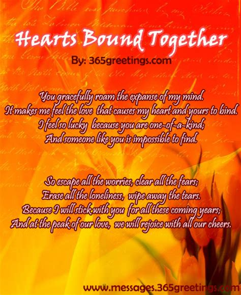 I Love You Poems for Him From the Heart