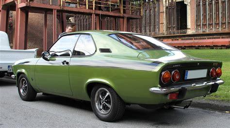 1974 Opel Manta by 1974 Opel Manta Photos Informations Articles