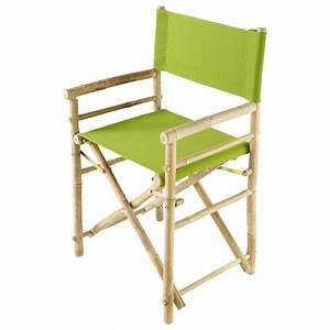 Fauteuil De Jardin Maison Du Monde : fauteuil pliant de jardin en bambou robinson maisons du ~ Premium-room.com Idées de Décoration