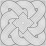 Coloring Pages Geometric Pattern sketch template