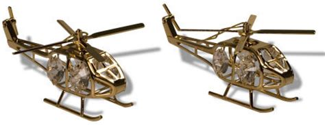 helicopter christmas ornament helicopter ornament gold mypilotstore