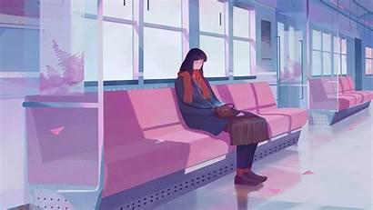 Lo Fi Lofi Train Chill Hop Computer
