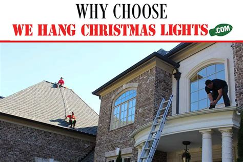 we hang christmas lights phoenix why choose we hang christmas lights