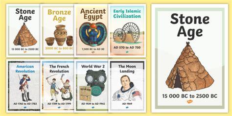 ks world history timeline posters ks world history