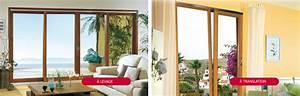 Baie Coulissante Bois : baie coulissante bois fenetre coulissante bois arcades et ~ Premium-room.com Idées de Décoration