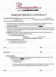 contract in home salon ideas pinterest makeup With freelance employment contract template