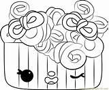 Frenchie Coloring Curls Pages Num Noms Coloringpages101 sketch template