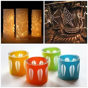 20 delightful diy candle holders and luminaries mum in With best brand of paint for kitchen cabinets with outside candle holders