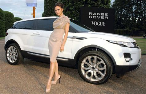 Range Rover Evoque Special Edition By Victoria Beckham To