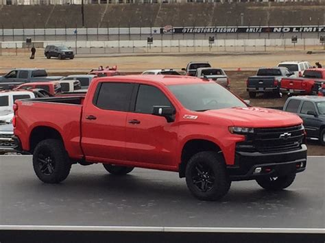 2019 Chevy Silverado Trail Boss Revealed At Anniversary