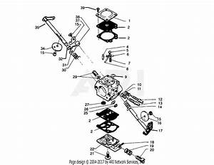 Poulan Pp325 Gas Saw  325 Gas Saw Parts Diagram For Carburetor Breakdown