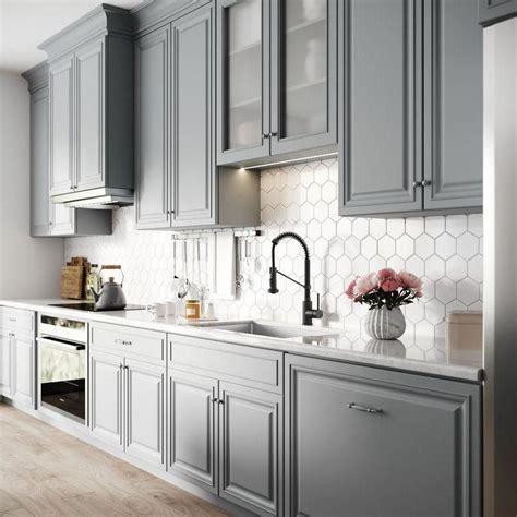 ways  style grey kitchen cabinets