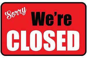 printable we39re closed sign free business signs With open closed sign template