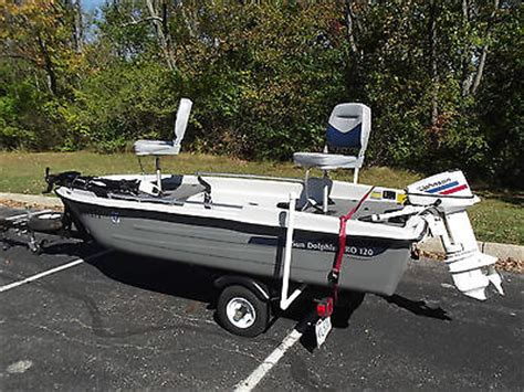 Boat Trailers For Sale Dayton Ohio by 1992 Sun Dolphin Pro 120 For Sale In Dayton Ohio United