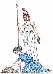 Arachne And Athena Picture, Arachne And Athena Image
