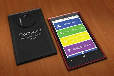 Smartphone Repair Center Business Card Template On Behance Cute Business Card Organizer Credit Name On Number Crossword Clue Create Online Free Printable No Visiting Cash Delivery Cards When Networking For Organization