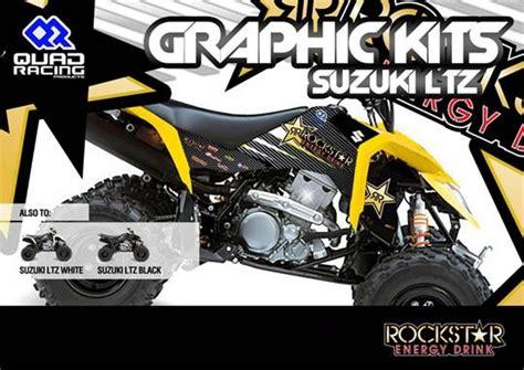 high quality 3m rockstar sticker kit for suzuki ltz 400