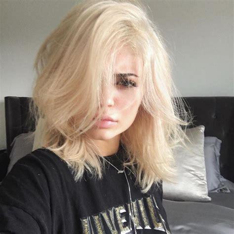 tendencias cabelos loiros  fotos dicas  novidades