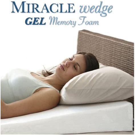 sleep apnea wedge pillow special offer gel memory foam wedge pillow