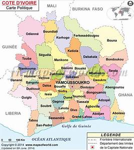 Cote Des Timbres Du Monde : carte de la c te d 39 ivoire carte du monde pinterest ghana geography and africa ~ Medecine-chirurgie-esthetiques.com Avis de Voitures
