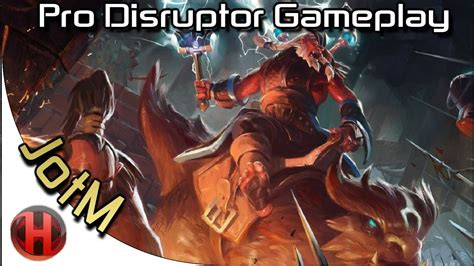 virtus pro jotm disruptor gameplay dota 2 youtube